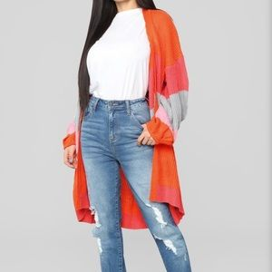 FashionNova oversized cardigan